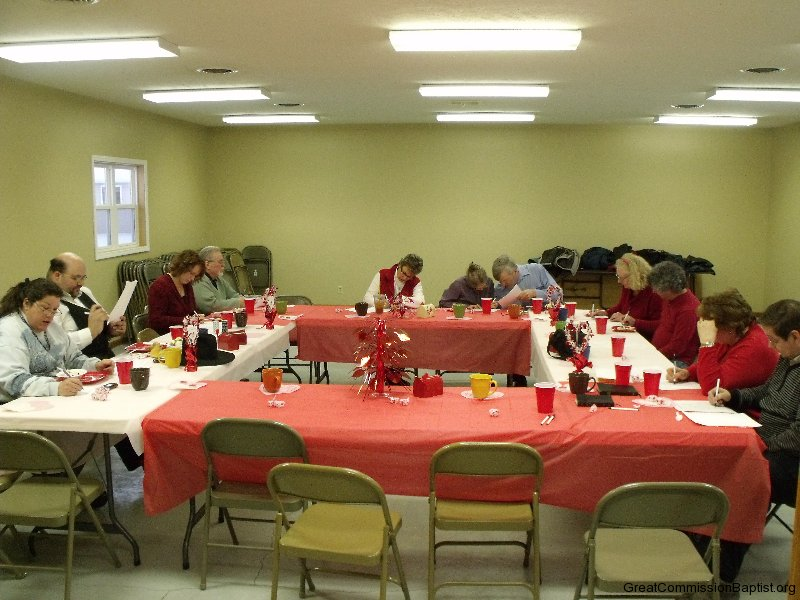 valentine s banquet 2012 great commission baptist church of blair